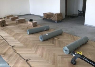 montage af gulve